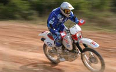 Προετοιμασία Dakar 2005