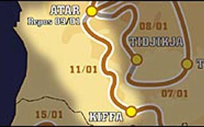 Paris Dakar 2005 – Μέρα 12