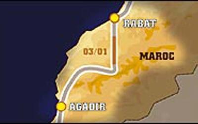 Paris Dakar 2005 – Μέρα 4