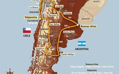 Η διαδρομή στο 31ο Dakar – Argentina Chile