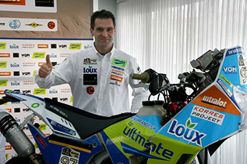 Η επίσημη παρουσίαση της συμμετοχή του Β. Ορφανού στο 33o Rally Dakar