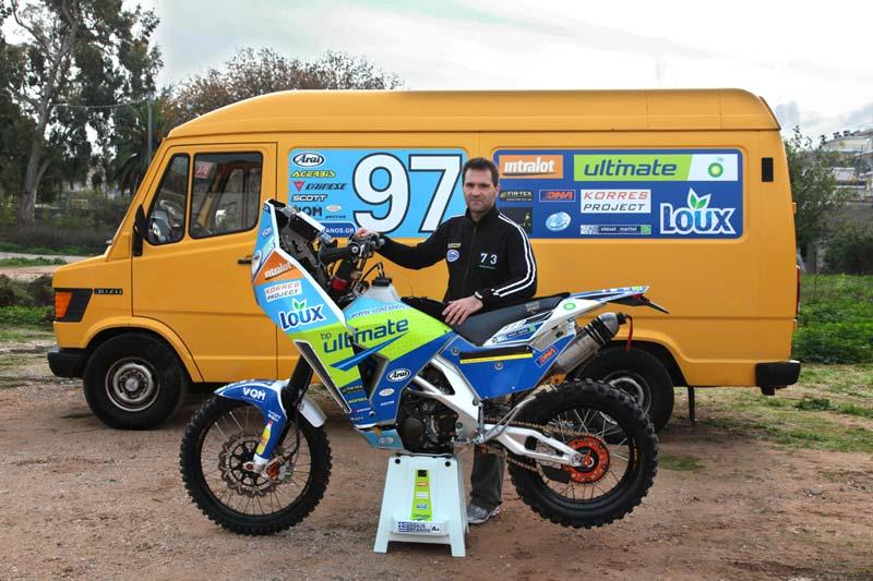 Ο Βασίλης Ορφανός επιστρέφει στην πρόκληση του Rally Dakar.