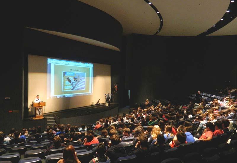 Ομιλία στο Κολλέγιο Αθηνών