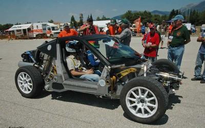 Το Korres Project P4 στο Τατόϊ με οδηγό τον Βασίλη Ορφανό.