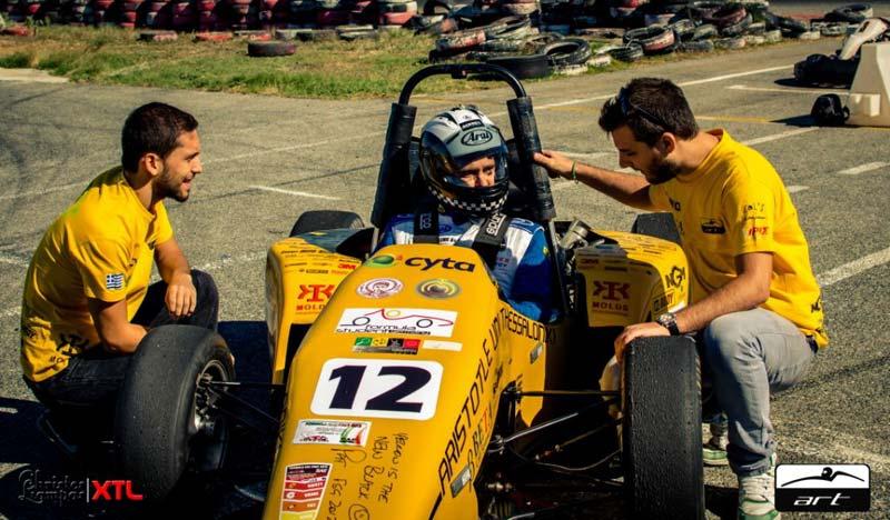 Ο Βασίλης Ορφανός οδηγεί τη Formula Art του Αριστοτελείου Πανεπιστημίου Θεσσαλονίκης!