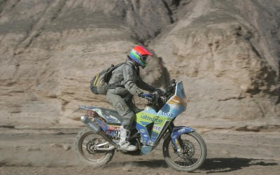 Rally Dakar 2011 / Stage 5: Vamos el piloto griejo!