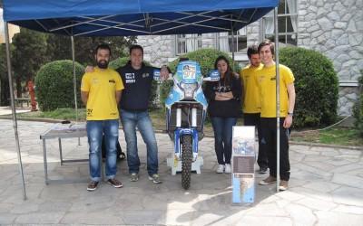 Ο Βασίλης Ορφανός κριτής στους Τελικούς F1 Schools στο Κολλέγιο Ανατόλια στη Θεσσαλονίκη
