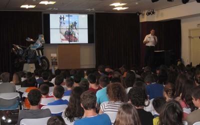 Ομιλία Βασίλη Ορφανού στην Εράσμειο Ελληνογερμανική Σχολή