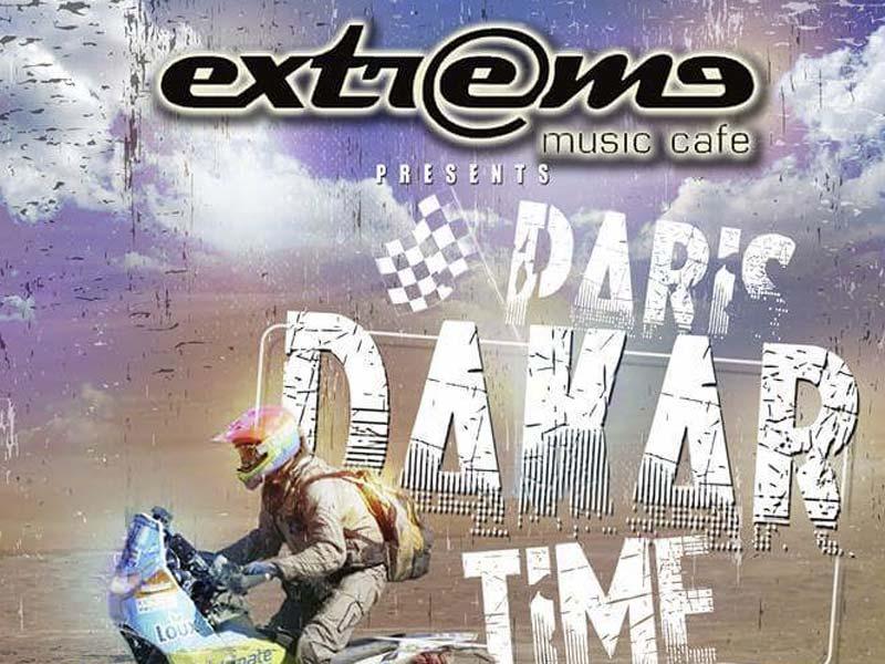 Ο Βασίλης Ορφανός καλεσμένος στο Cafe Extreme για μια Extreme βραδιά γεμάτη Dakar!