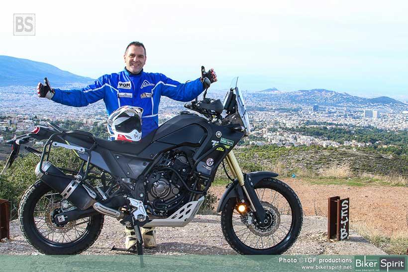 H VOM δοκιμάζει την νέα YAMAHA TENERE 700 για το bikerspirit